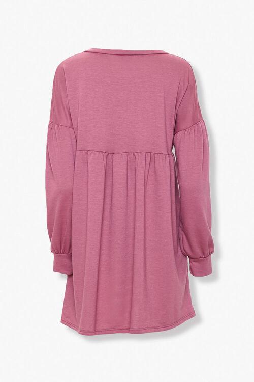 Shirred Shift Mini Dress, image 2