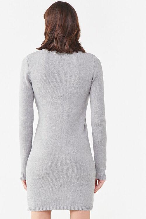 Mock Neck Sweater Dress, image 3
