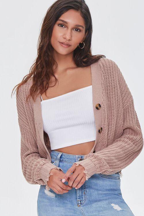 Sharkbite Cardigan Sweater, image 1