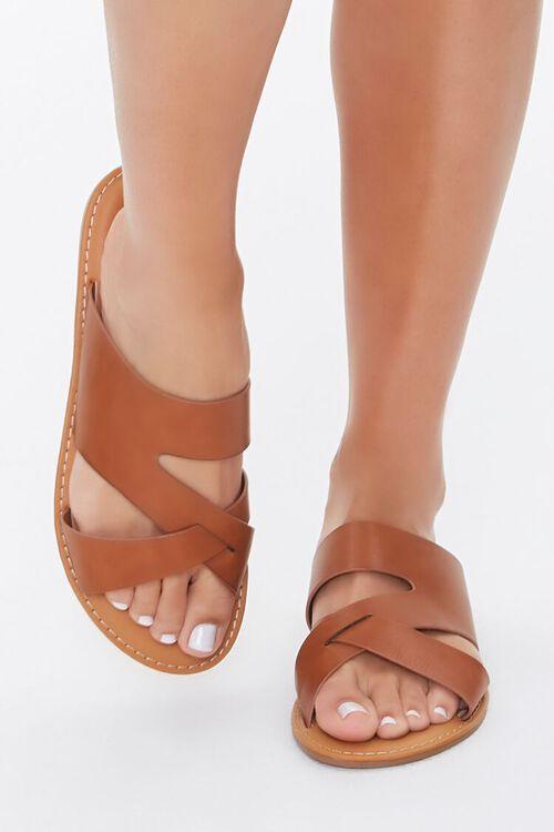 Caged Crisscross Sandals, image 2