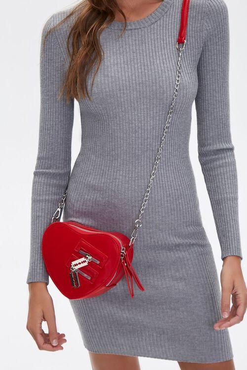 Heart-Shaped Crossbody Bag, image 3