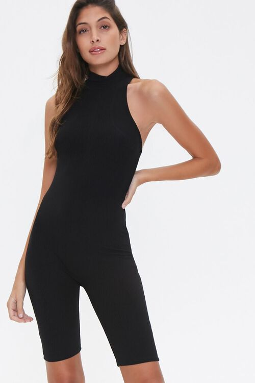 Fitted Racerback Romper, image 2