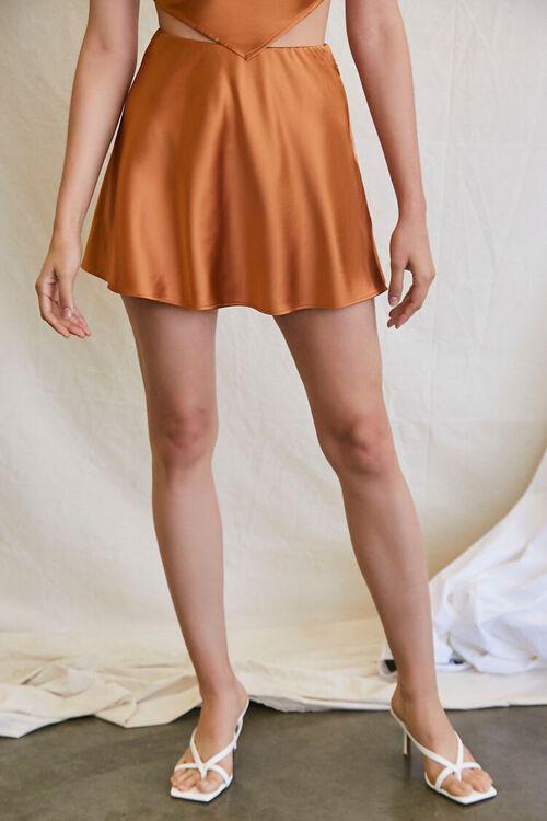 CHESTNUT Skater Mini Skirt, image 2
