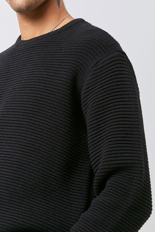 Ribbed Long Sleeve Sweater, image 5