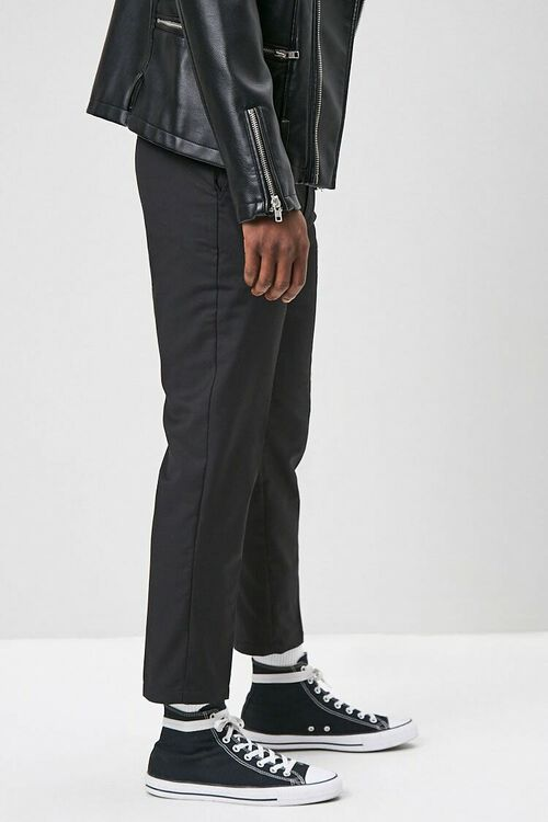 Slim-Fit Woven Trousers, image 2