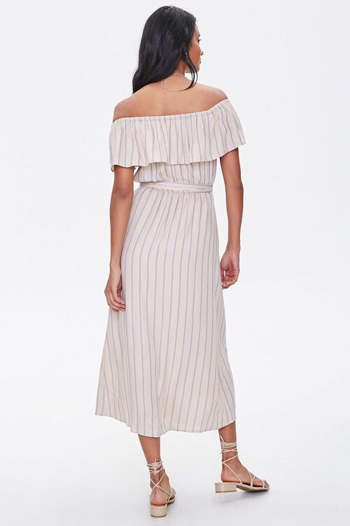 Striped M-Slit Maxi Dress, image 3