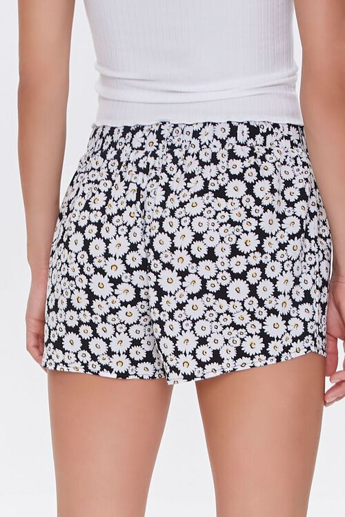 Daisy Print Lounge Shorts, image 4