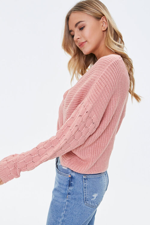 Reversible Twist-Front Sweater, image 2