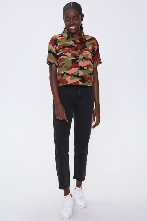 Camo Print Shirt, image 4