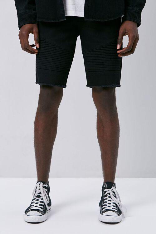 Frayed Moto Shorts, image 2