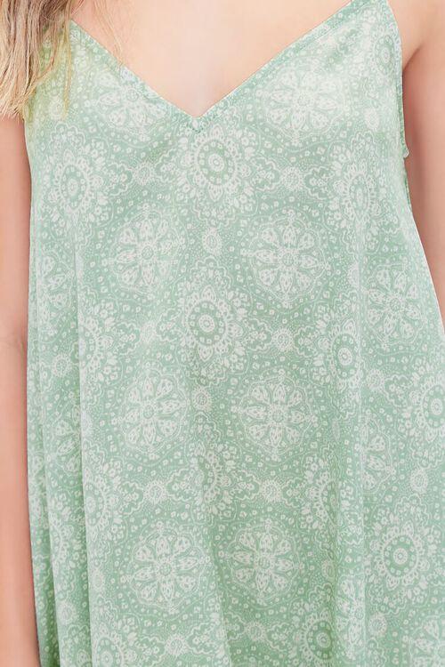 Ornate Print Handkerchief Dress, image 5