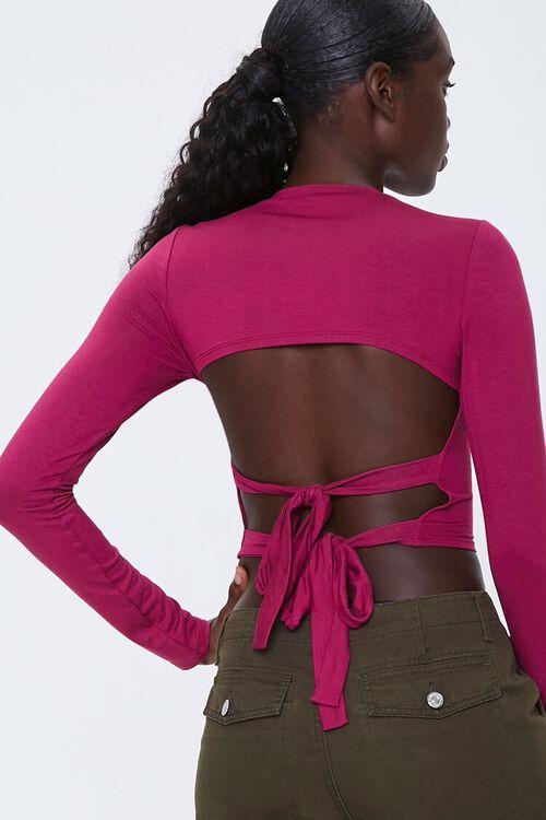 Tie-Back Crop Top, image 1