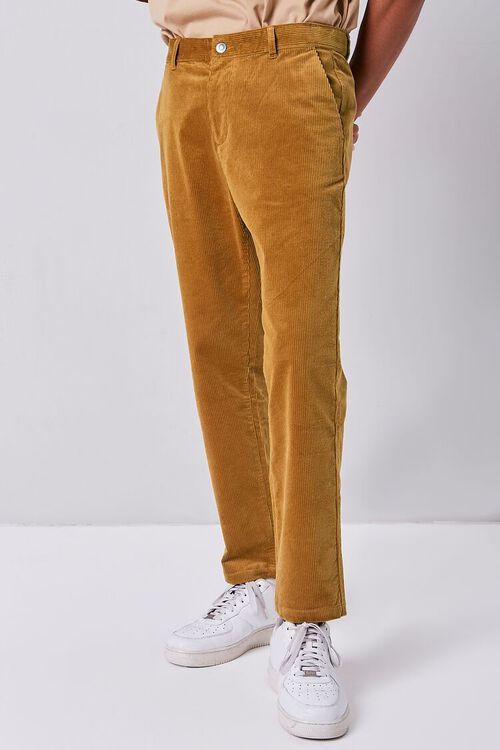 Corduroy Straight-Leg Pants, image 2