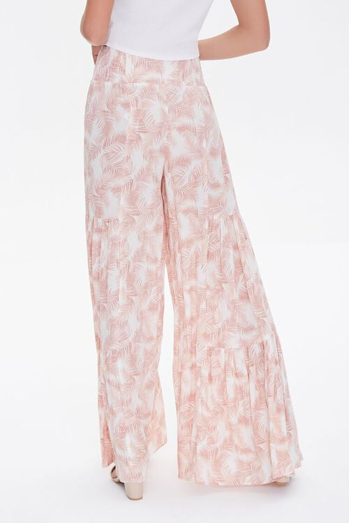 Leaf Print Wide-Leg Pants, image 3