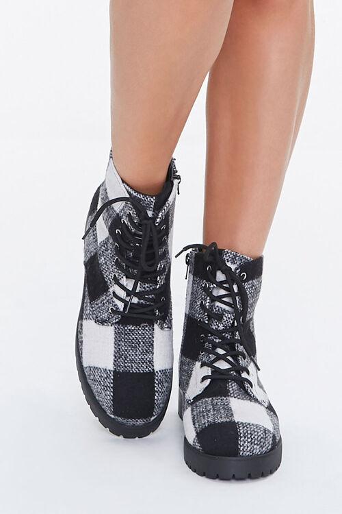 Plaid Combat Boots, image 4