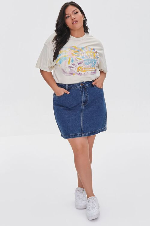 Plus Size Lucy In The Sky Graphic Tee, image 4
