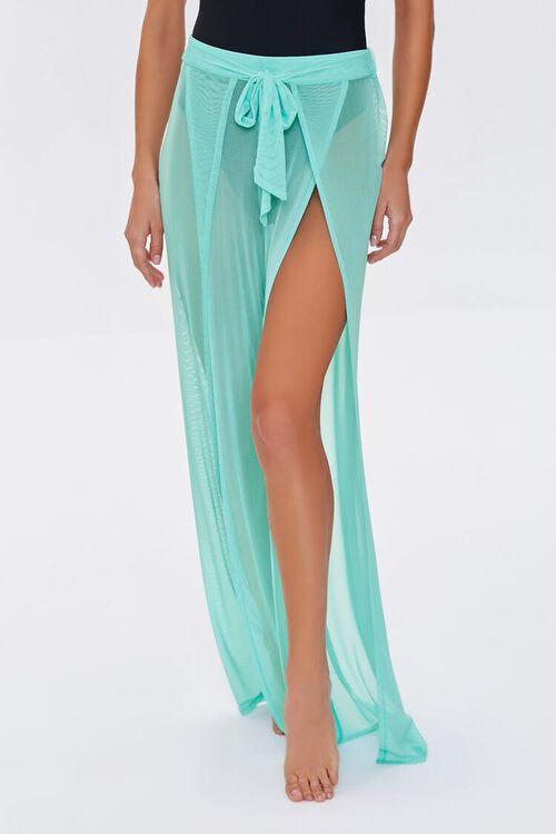 Mesh Swim Cover-Up Pants, image 2