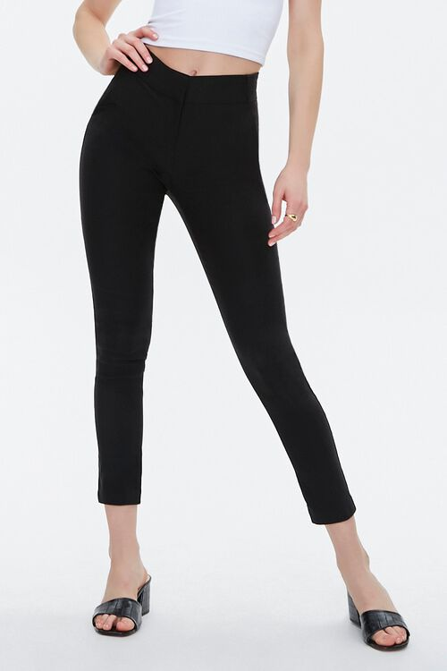 Stretch-Woven Skinny Pants, image 2