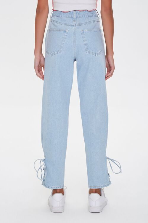 Lace-Up Mom Jeans, image 3