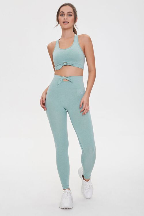 Active Knotted Leggings, image 1