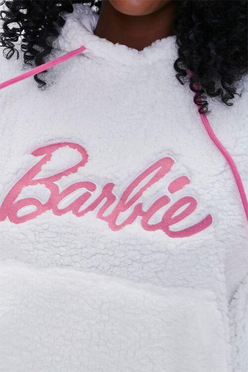 Faux Shearling Barbie™ Hoodie, image 5