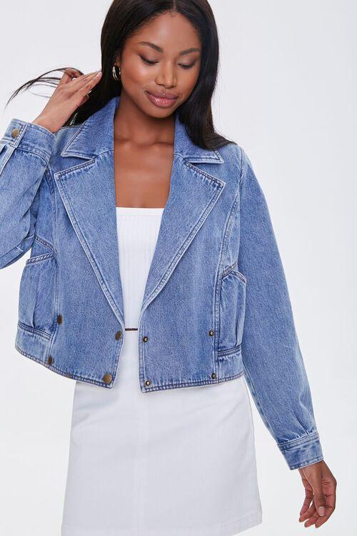 Double-Breasted Denim Jacket, image 2