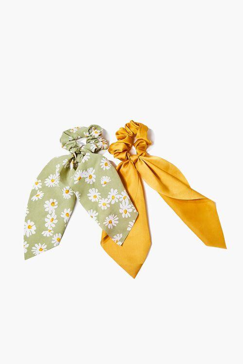 Daisy Bow Scrunchie Set, image 2