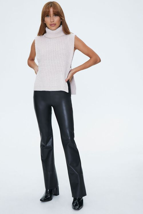 Turtleneck Sweater-Knit Top, image 4