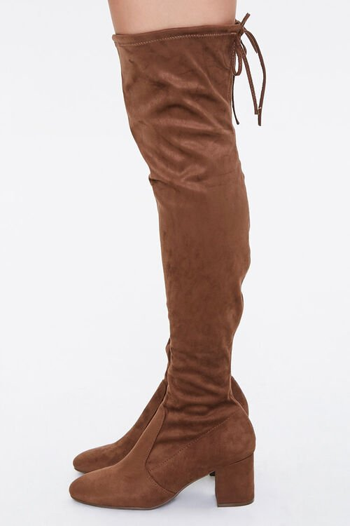 Over-the-Knee Sock Boots, image 2