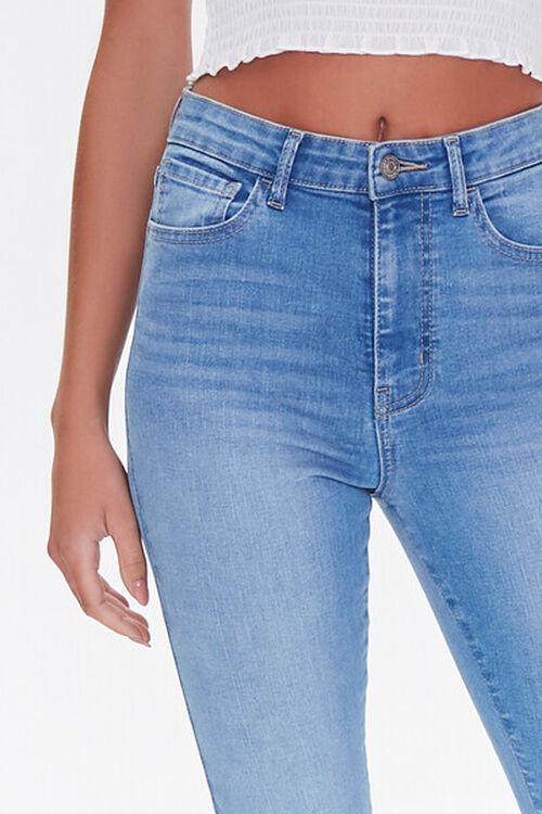MEDIUM DENIM Essential High-Rise Skinny Jeans, image 5