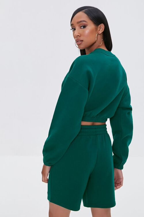Cropped Tune Squad Pullover, image 3
