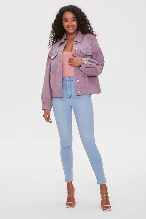 Flap-Pocket Denim Jacket, image 4