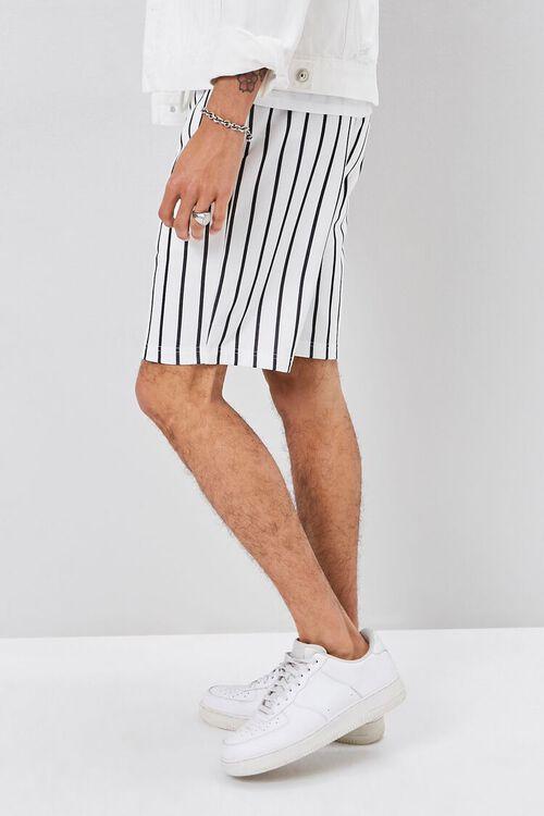 Pinstriped Drawstring Shorts, image 3