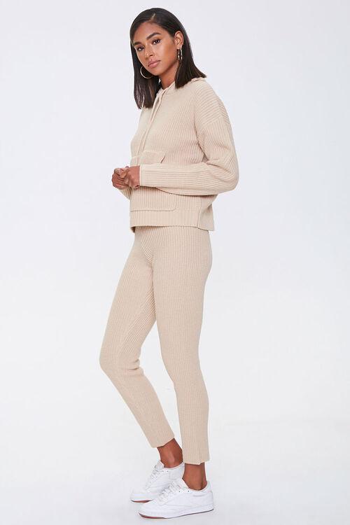 Sweater-Knit Hoodie & Pants Set, image 2