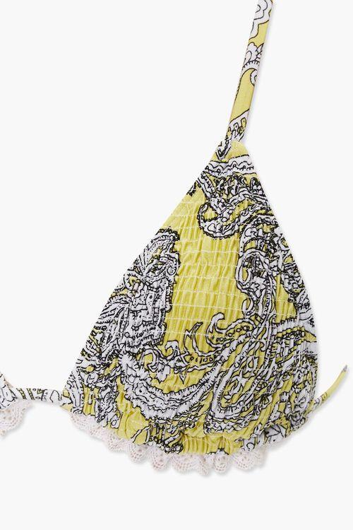 Ornate Triangle Bikini Top, image 3