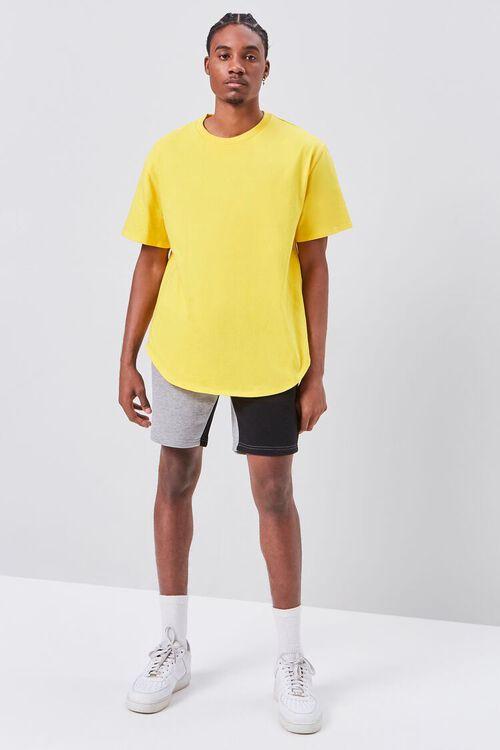 Colorblock Drawstring Shorts, image 5