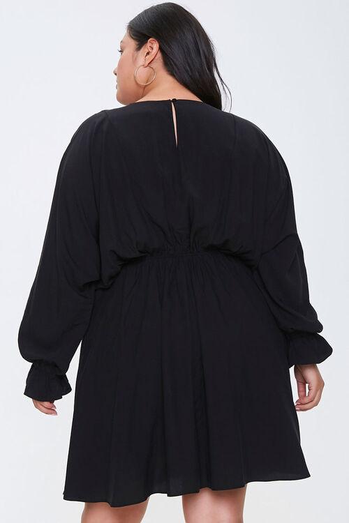 Plus Size Fit & Flare Dress, image 3