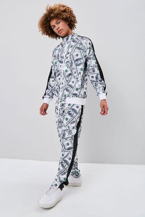 Hundred Dollar Print Drawstring Pants, image 1