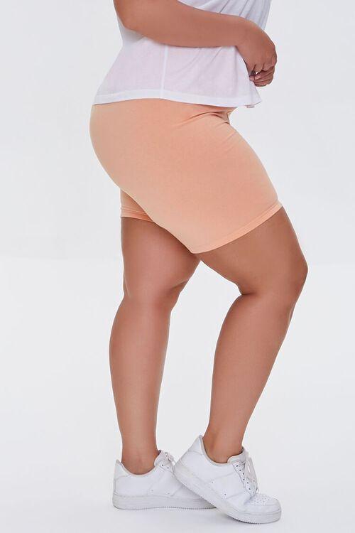 Plus Size Organically Grown Cotton Biker Shorts, image 3