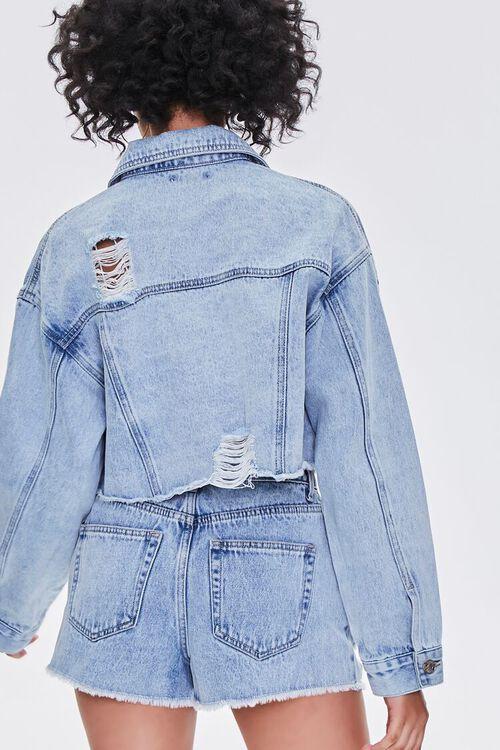 Rhinestone-Trim Denim Jacket, image 3