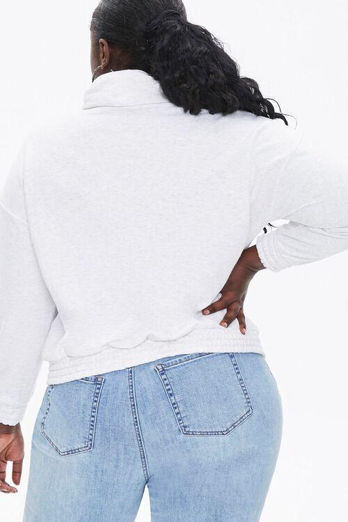 Plus Size Turtleneck Pullover, image 3