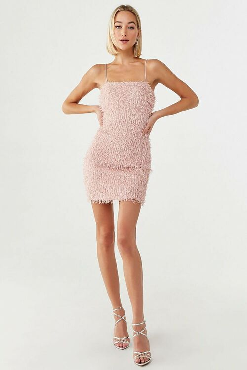 Fringe Cami Mini Dress, image 4