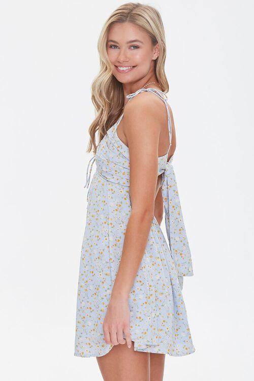 Floral Print Fit & Flare Dress, image 2
