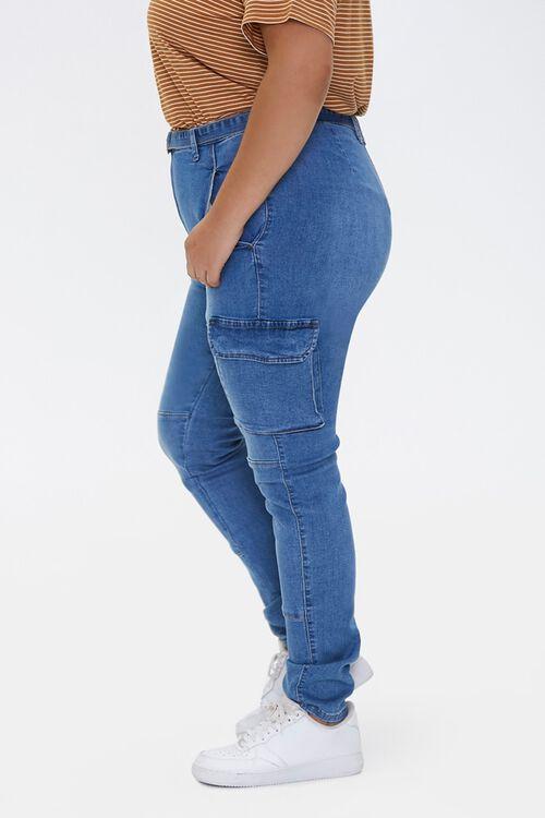 Plus Size Cargo Jeans, image 3