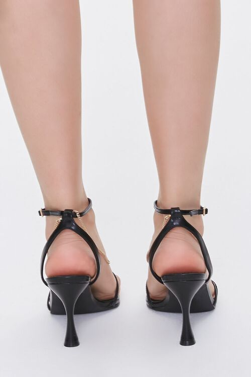 Chain Accent-Strap Heels, image 3