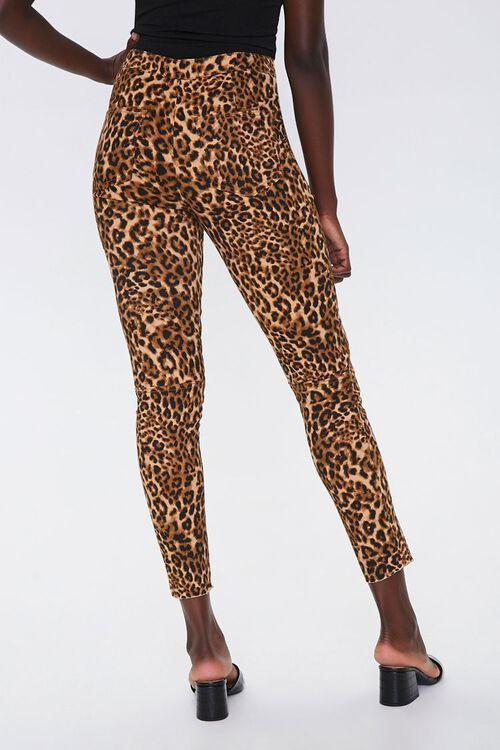 Leopard Print Skinny Jeans, image 4