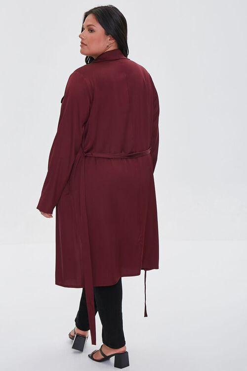 RED Plus Size Wrap Jacket, image 3