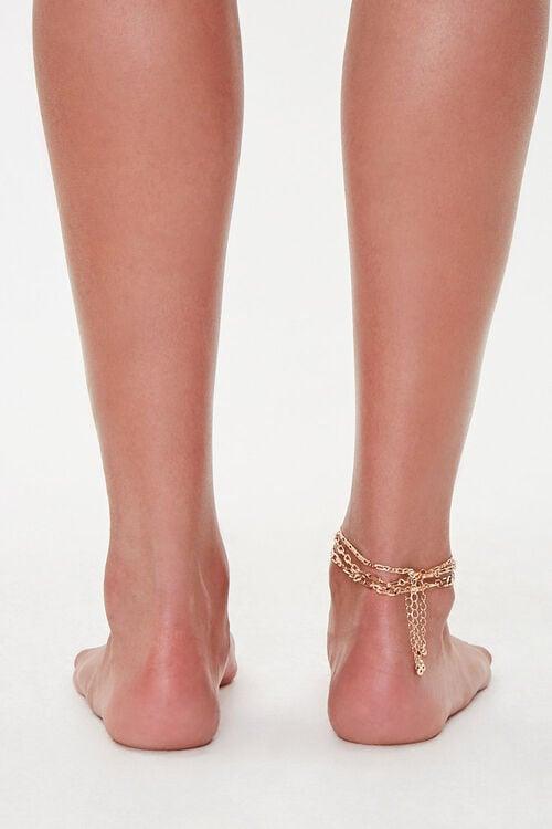 Figaro Chain Anklet Set, image 4