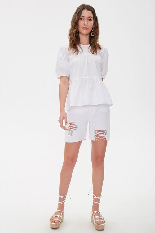 Boxy Tiered Flounce Top, image 4
