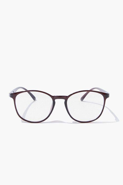 Men Round Reader Glasses, image 1